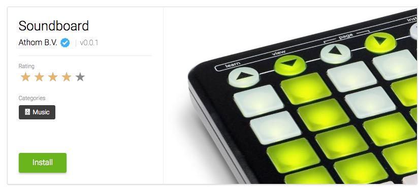 Homey Soundboard App