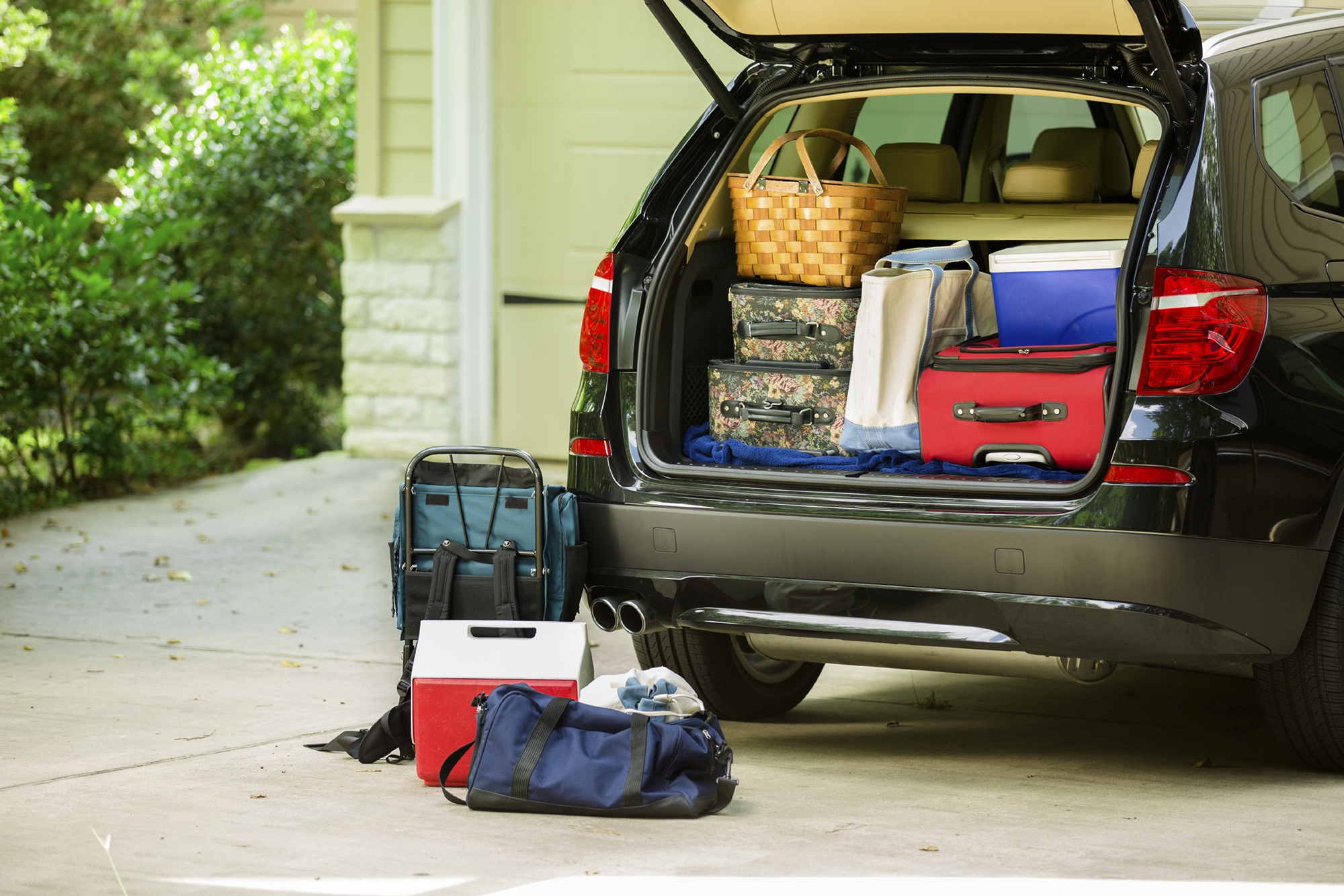 Pack your car for holiday