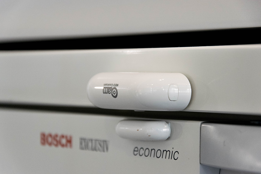 try adding a door sensor to your fridge
