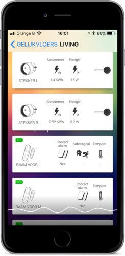 de Homey Smartphone App