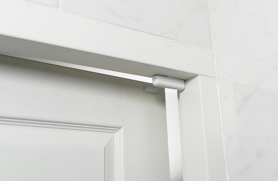 a contact sensor in a home