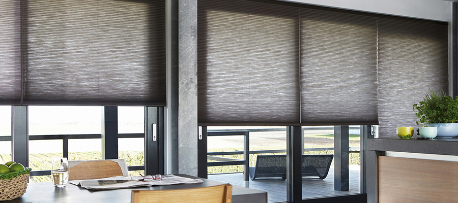 keep the heat out with motorised blinds and homey