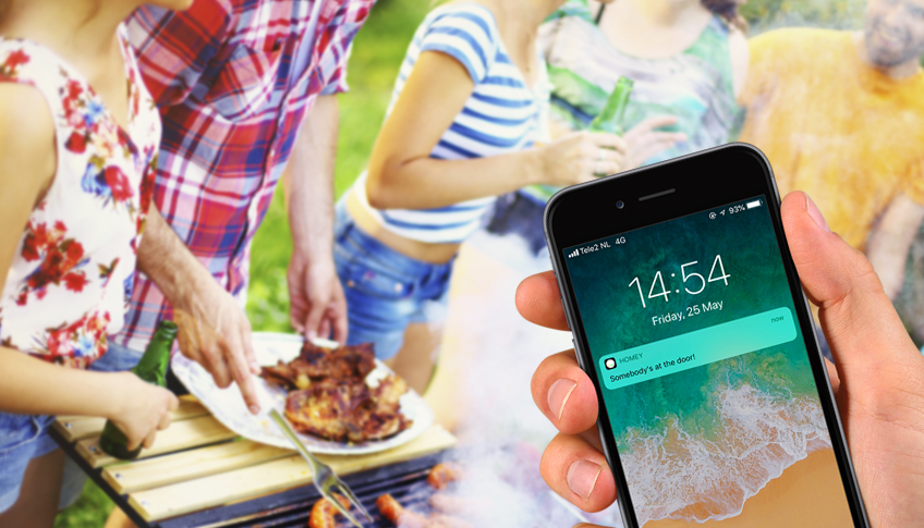 make your summer barbecues smart with homey