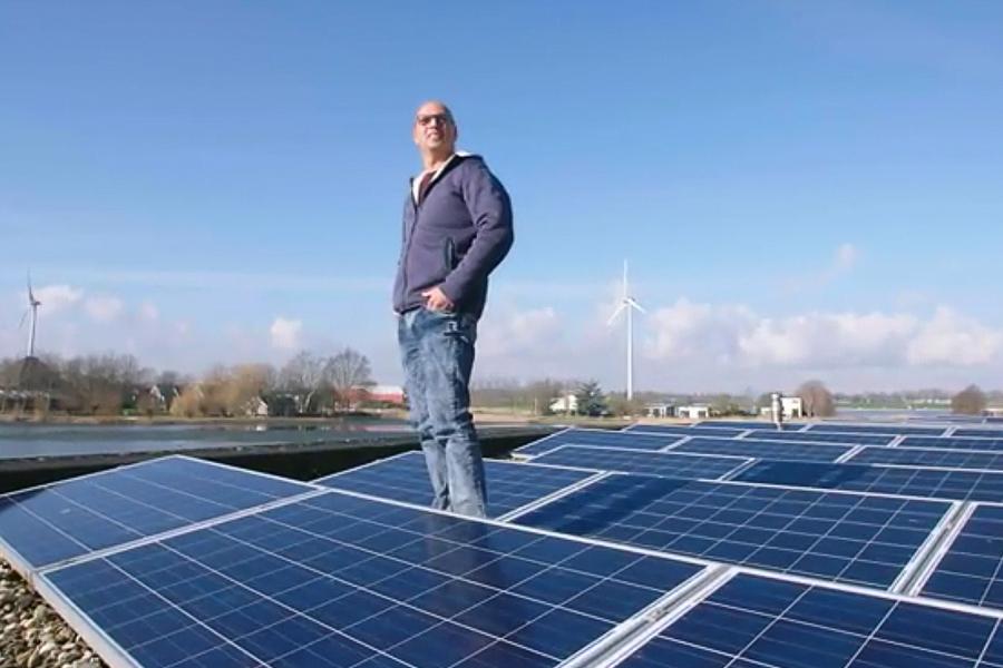 zonnepanelen in een slim huis
