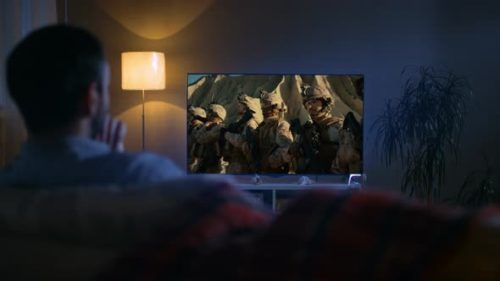 smart tv avond