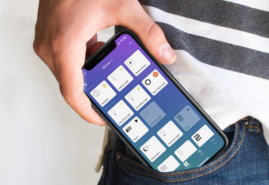 Homey Smartphone App