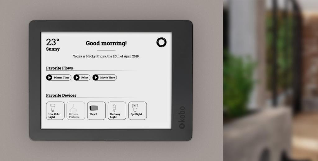 Homey ink, an e-ink Homey dashboard | Homey Blog