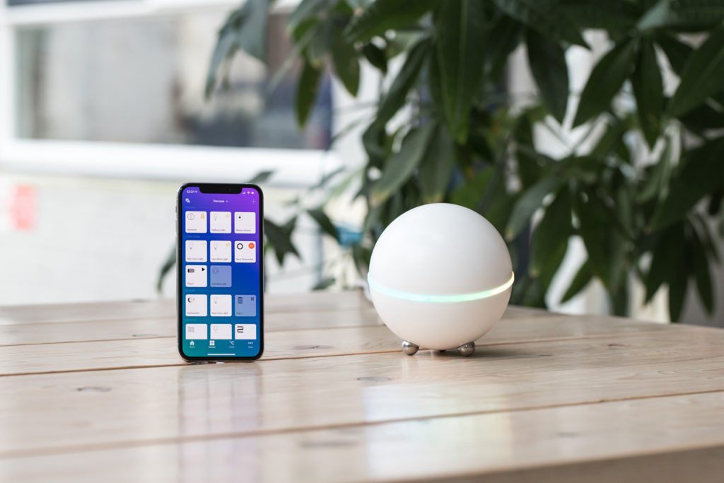 Homey smart home system and app