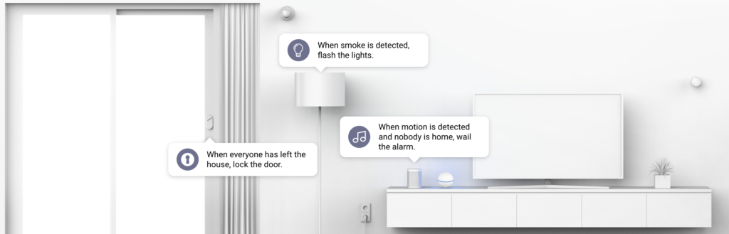 smart home systems use case: safe and secure