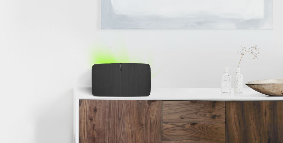 Sonos speakers work perfectly with Homey