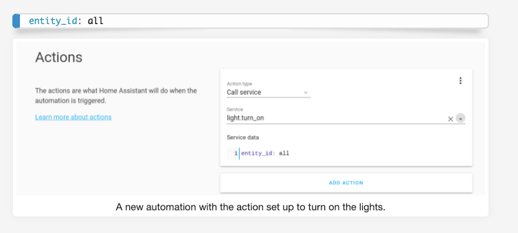 Raspberry pi automation with Home Assistant