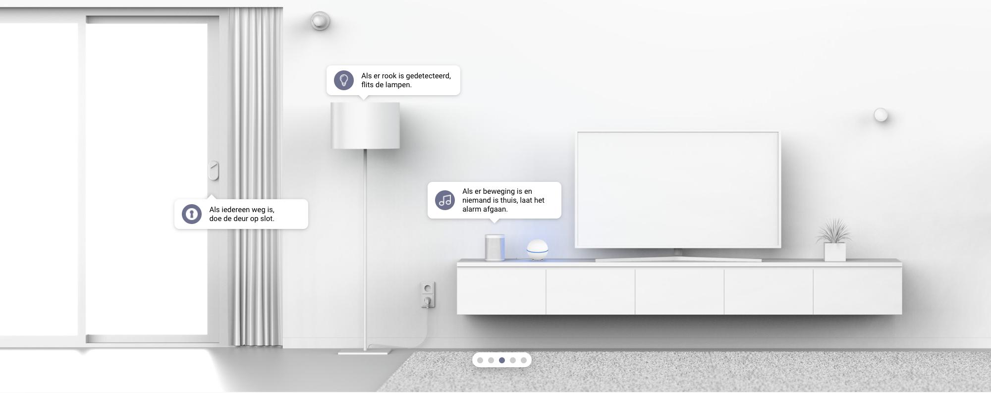 Maak je huis veiliger met Smart Home en Homey