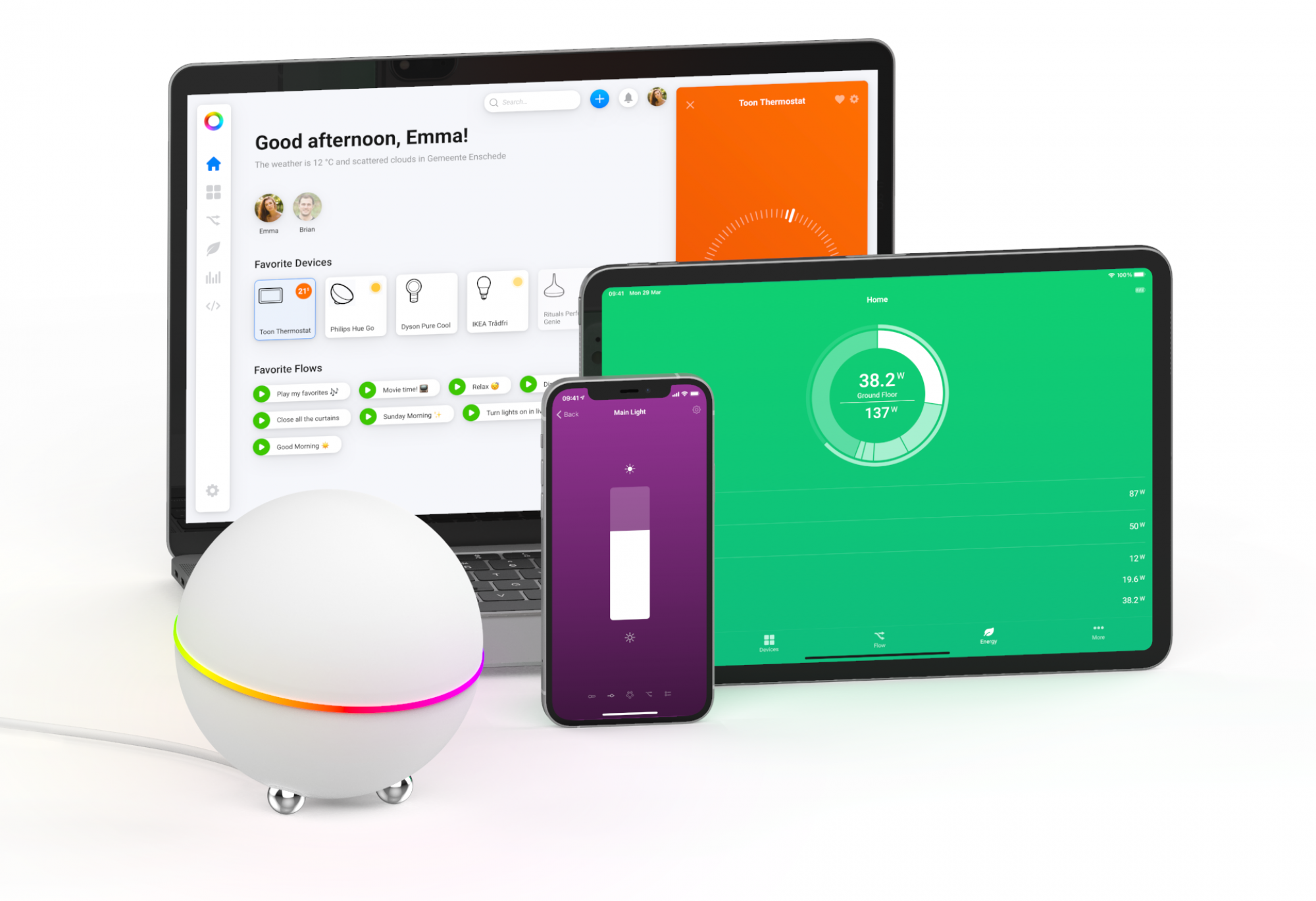 KNX smart home control on any device